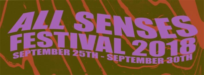 All Senses 2018 Banner