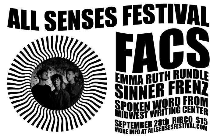 All Senses September 28 RIBCO Handbill copy