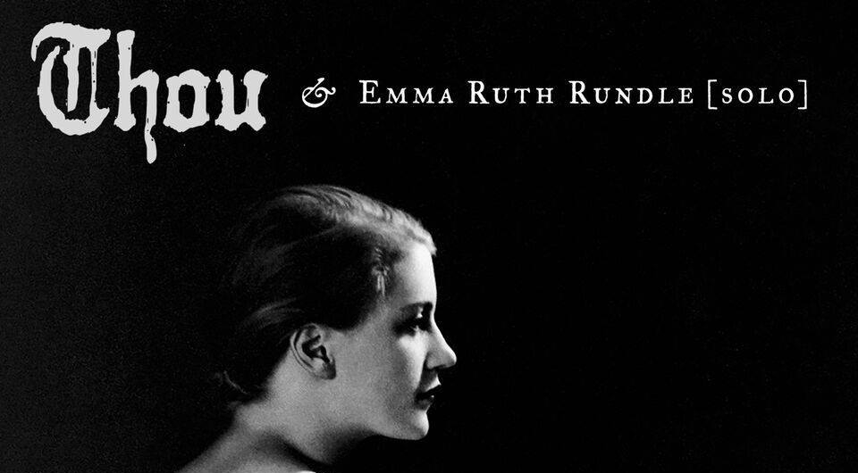 ALL SENSES & WAKE BREWING PRESENTS: THOU/EMMA RUTH RUNDLE & BRIAN BARR MARCH 26TH AT RIBCO